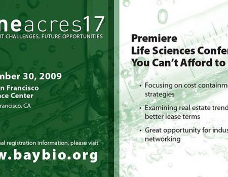 BayBio Gene Acres 17 conference program ad