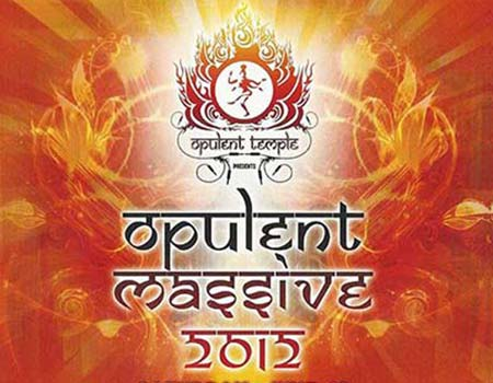 Opulent Massive Music & Art Festival flyer