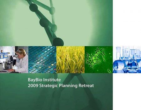 BayBio Institute Annual Retreat Program cover
